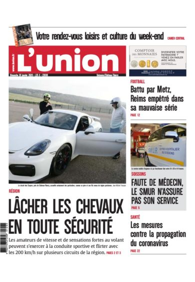 Article L'union du 26 Janvier 2020