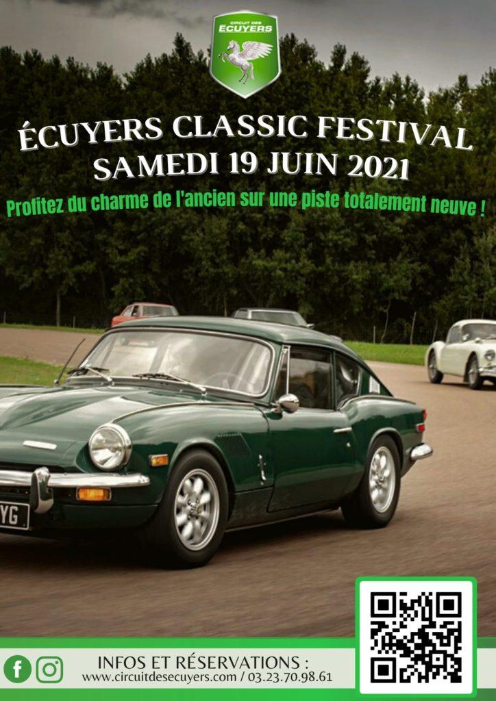Affiche - Écuyers Classic Festival