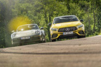 Mercedes-AMG Classe A 45/ Porsche 911 :  Le match !
